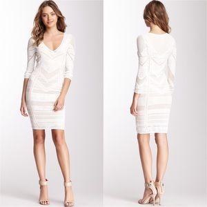Catherine Malandrino Knit Two Layer V-Neck Dress